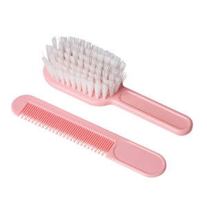 cepillo bebe rosa