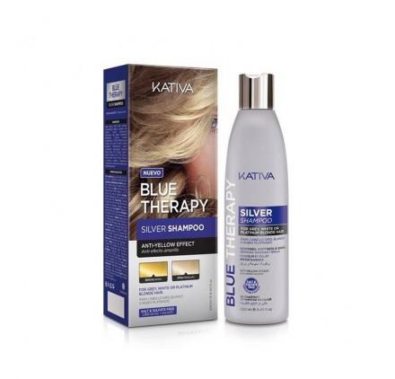 Kativa Blue Therapy Silver Champú 250ml
