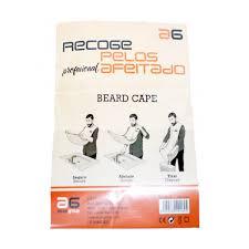 capa recoge pelos barba