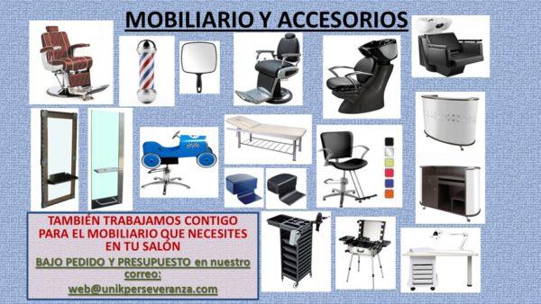 Mobiliario y accesorios para tu salón.